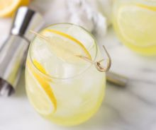 Cooler de vodka et Limoncello
