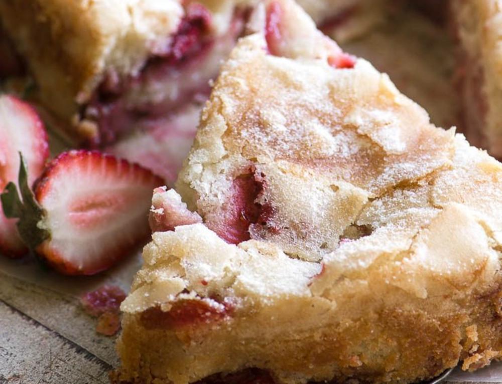 La meilleure recette de gâteau crémeux aux fraises!