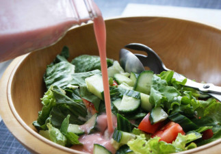 La meilleure recette de vinaigrette à la rhubarbe!