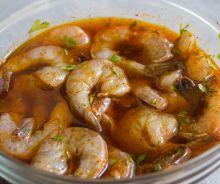 Marinade pour crevettes