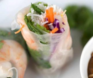 La recette parfaite de rouleau de printemps aux crevettes!
