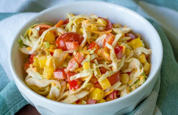 La recette facile de salade de chou du sud-ouest!
