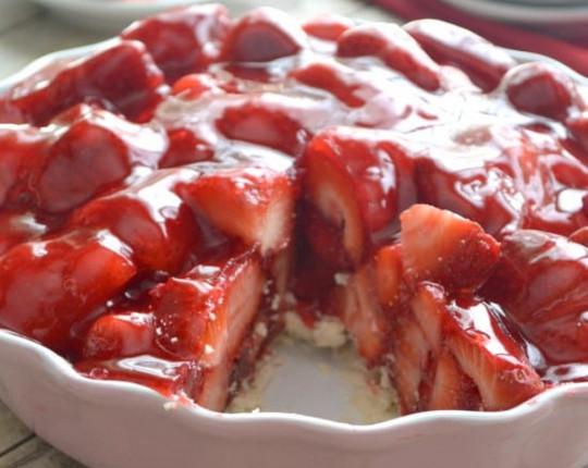 La meilleure recette de tarte aux fraises (Super FACILE à faire...)