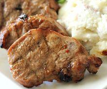 Médaillons de porc grillé