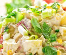 Salade de houmous et de patates