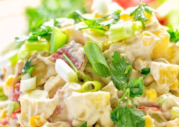Cette recette de salade de houmous et de patates est un délice santé!