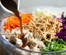 Salade de poulet à la chinoise