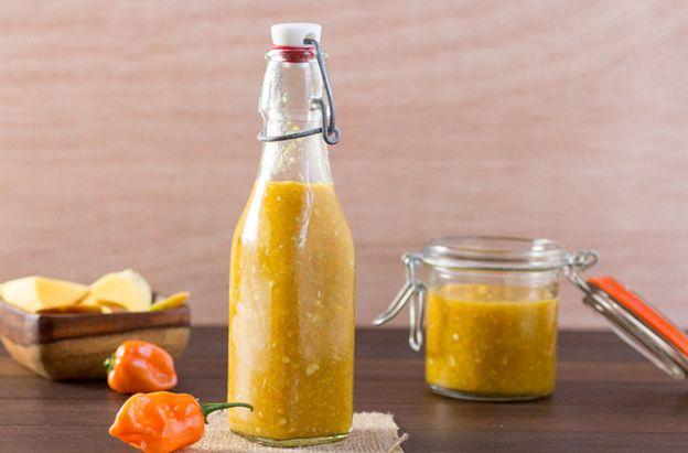 La meilleure recette de sauce piquante à la mangue et habanero!