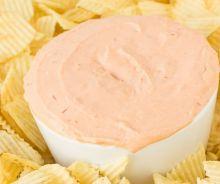 Trempette pour les chips