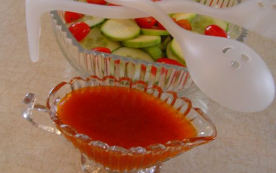 La recette secrète de vinaigrette Catalina (style Kraft)!