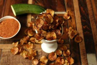 Chips de zucchini santé