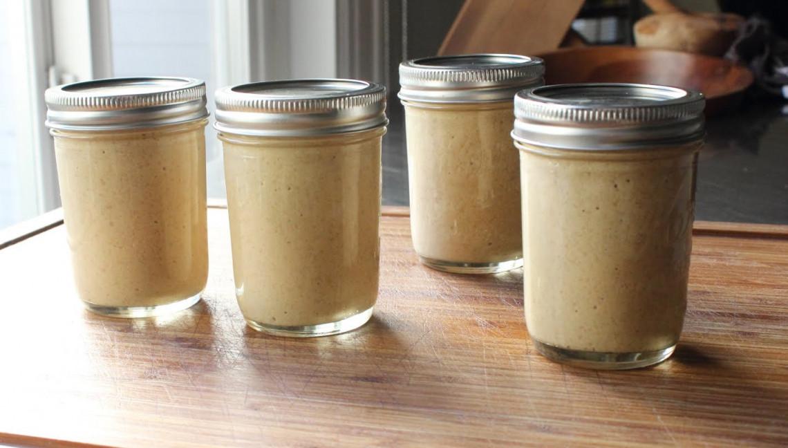 La recette facile pour faire des conserves de moutarde de Dijon!