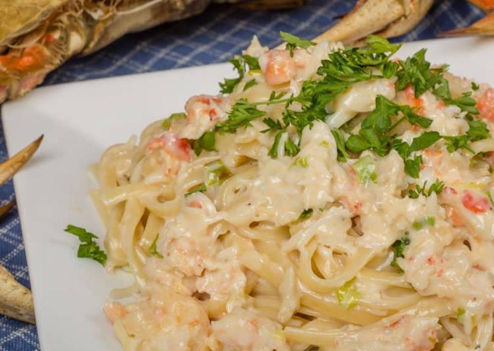 La recette secrète de pâtes aux crabes Alfredo (style Red Lobster)!