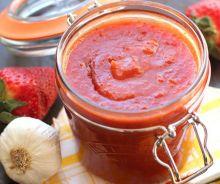 Sauce BBQ piquante aux fraises et Whiskey