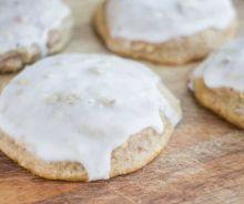 Biscuits glacés aux concombres