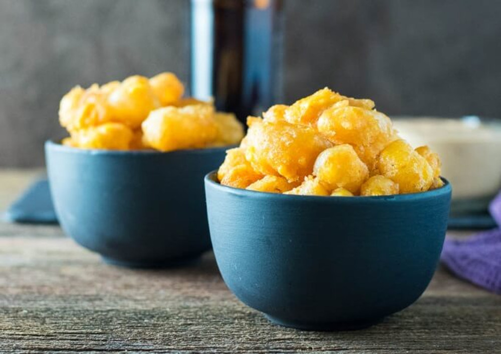 La recette parfaite de fromage en grains frit à la bière!