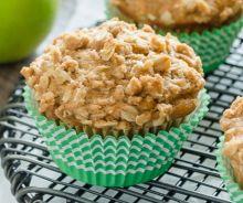 Muffins à la croustade aux pommes