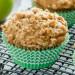 La meilleure recette de muffins à la croustade aux pommes!