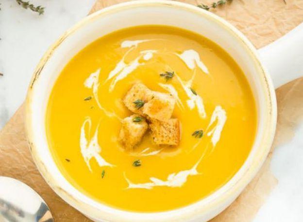 La recette super facile de potage de courge butternut et poireaux!