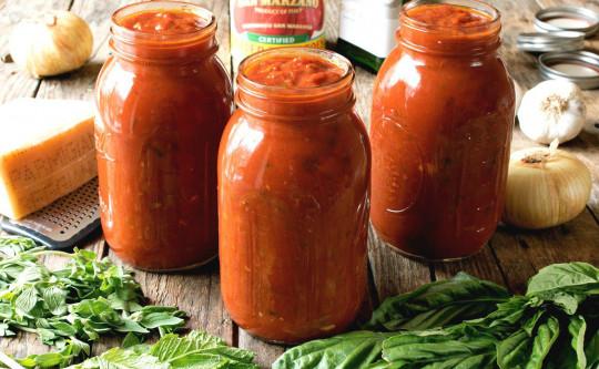 La meilleure recette parfaite de sauce tomates à l'italienne!