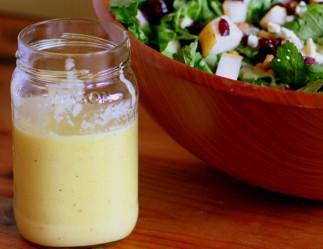 La recette facile de vinaigrette aux poires (Un délice!)