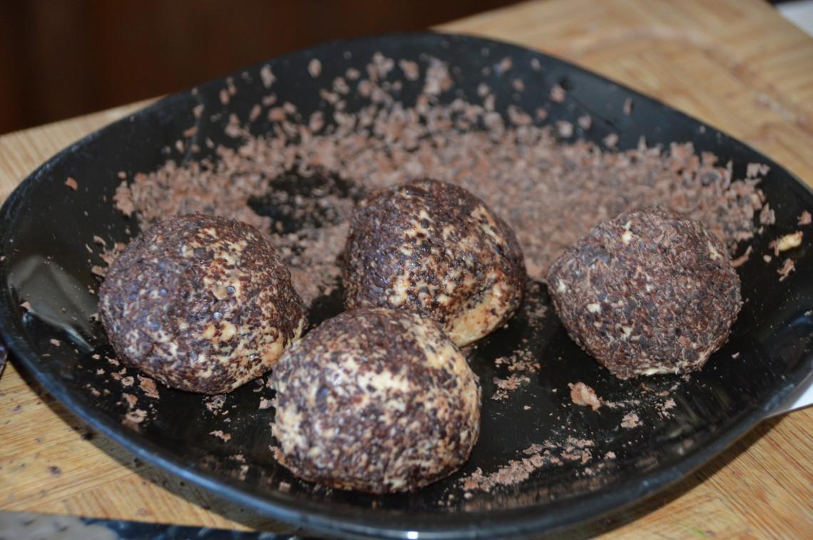 La recette de boules d'énergie au gâteau au fromage (3 ingrédients!)