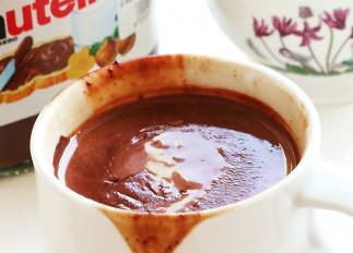 Chocolat chaud au Nutella