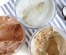 Crème glacée (Vanille, Chocolat ou Café)