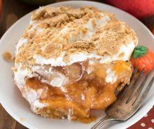 Dessert aux pommes et à la citrouille (Sans cuisson)