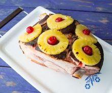 Jambon au 7up et à l'ananas dans la mijoteuse