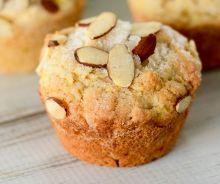 Muffins aux pommes et amandes