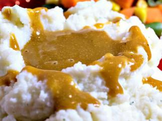 La meilleure recette de sauce « gravy » végane et sans gras!