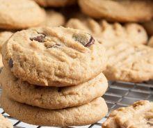 Biscuits au beurre d'arachide et pépites de chocolat