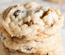 Biscuits au triple chocolat et noix de Grenoble