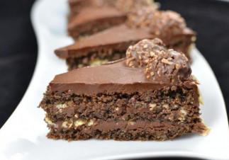 Gâteau aux Ferrero Rocher