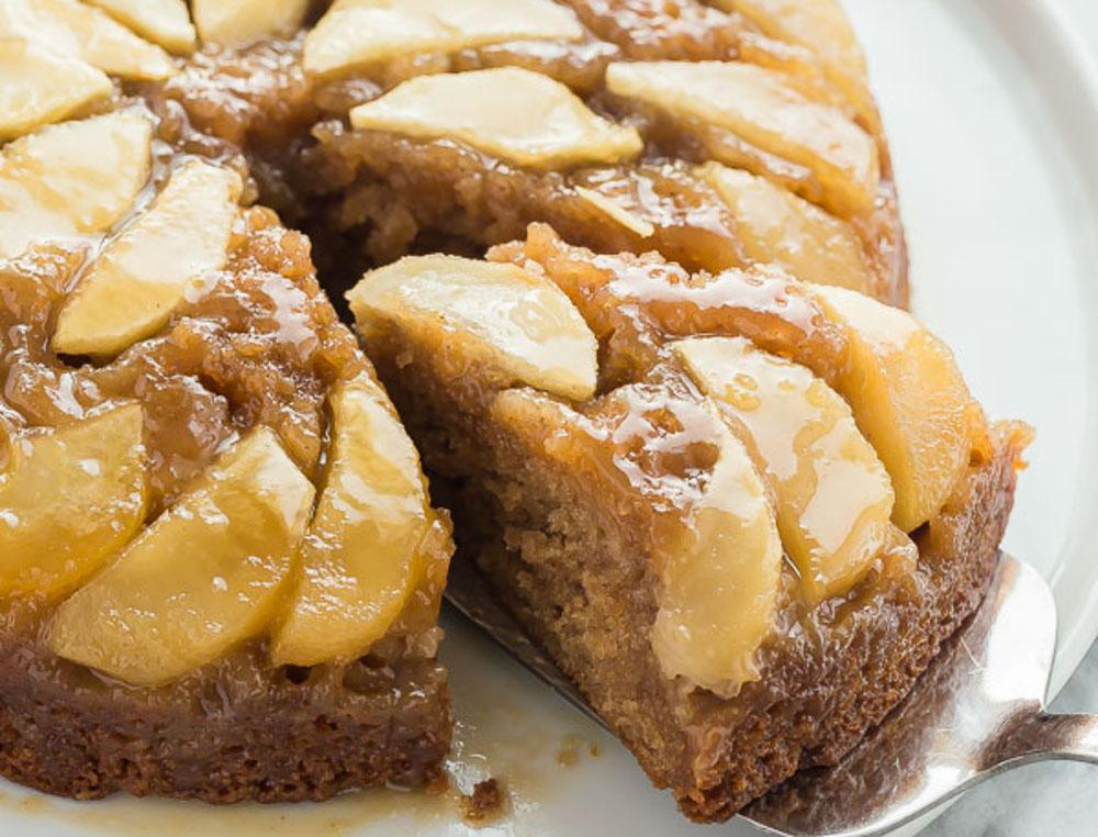 La meilleure recette de gâteau renversé aux pommes (Très facile à faire!)