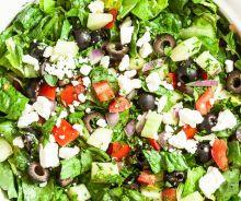 Salade grecque (la meilleure)