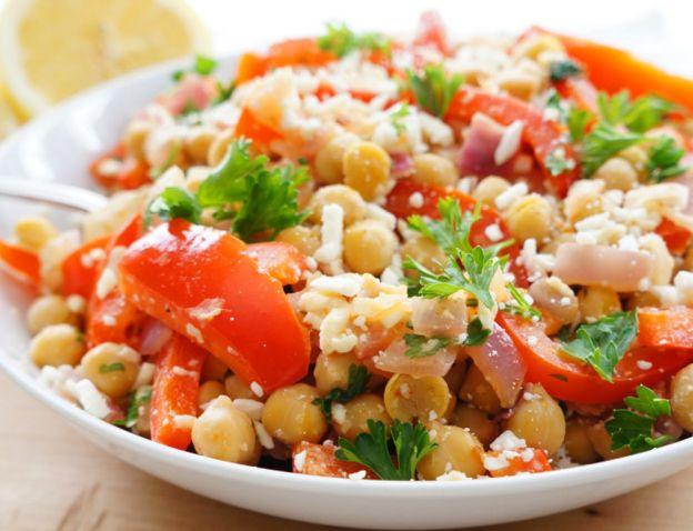 La meilleure recette de salade santé aux pois chiches