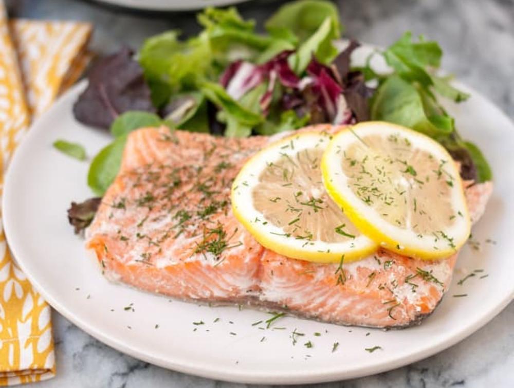 C'est impossible de rater ce saumon à la mijoteuse (Très facile à faire...)