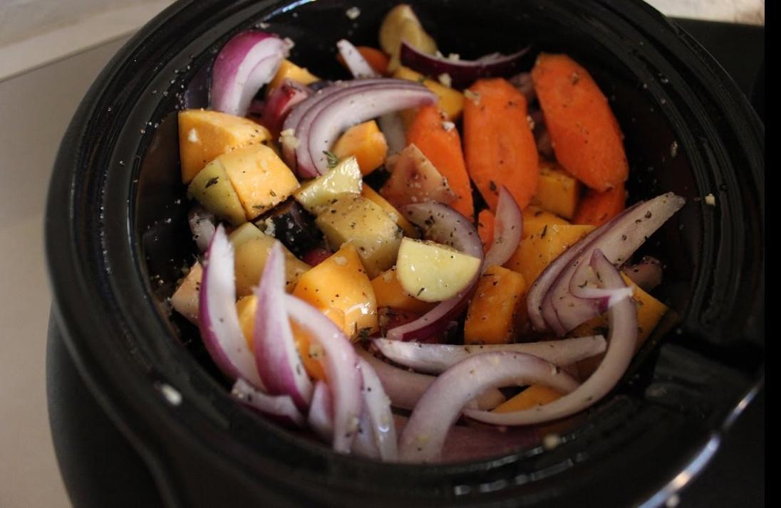 Ces légumes rôtis dans la mijoteuse sont parfaitement cuits!