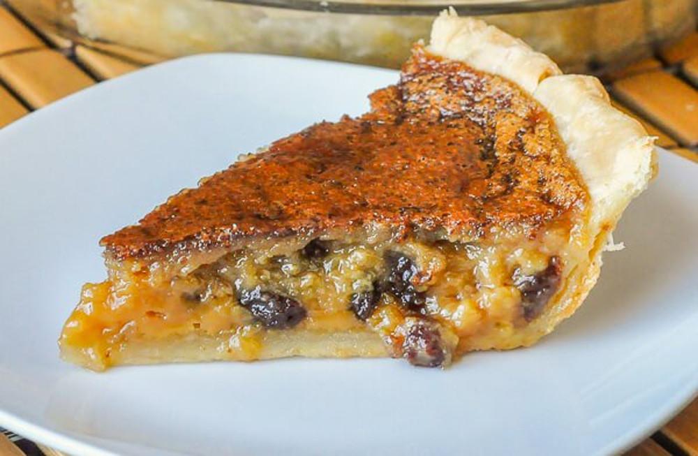 La fameuse tarte au beurre et sirop d'érable de grand-maman!