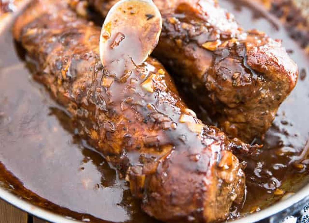 La meilleure recette de filet de porc à l'érable... Hummm :)