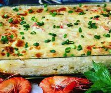 Lasagne crémeuse aux fruits de mer