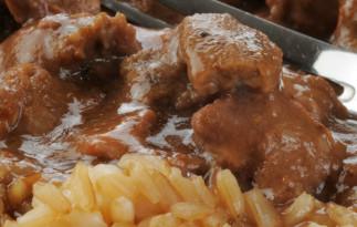 La meilleure recette de rôti de pointe de surlonge de boeuf à la mijoteuse!
