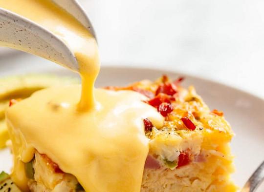 La meilleure recette de Sauce Hollandaise au monde (Super facile à préparer)