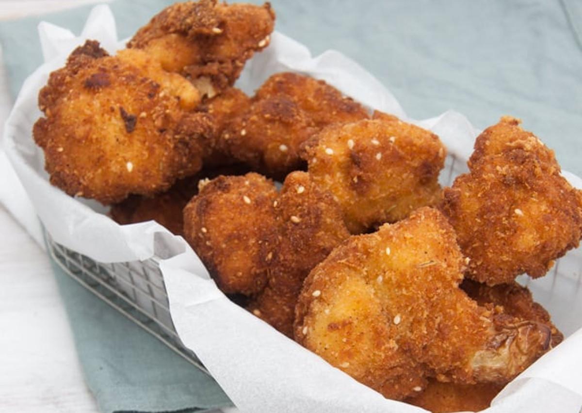 Ces croquettes de chou-fleur frit sont absolument parfaites!