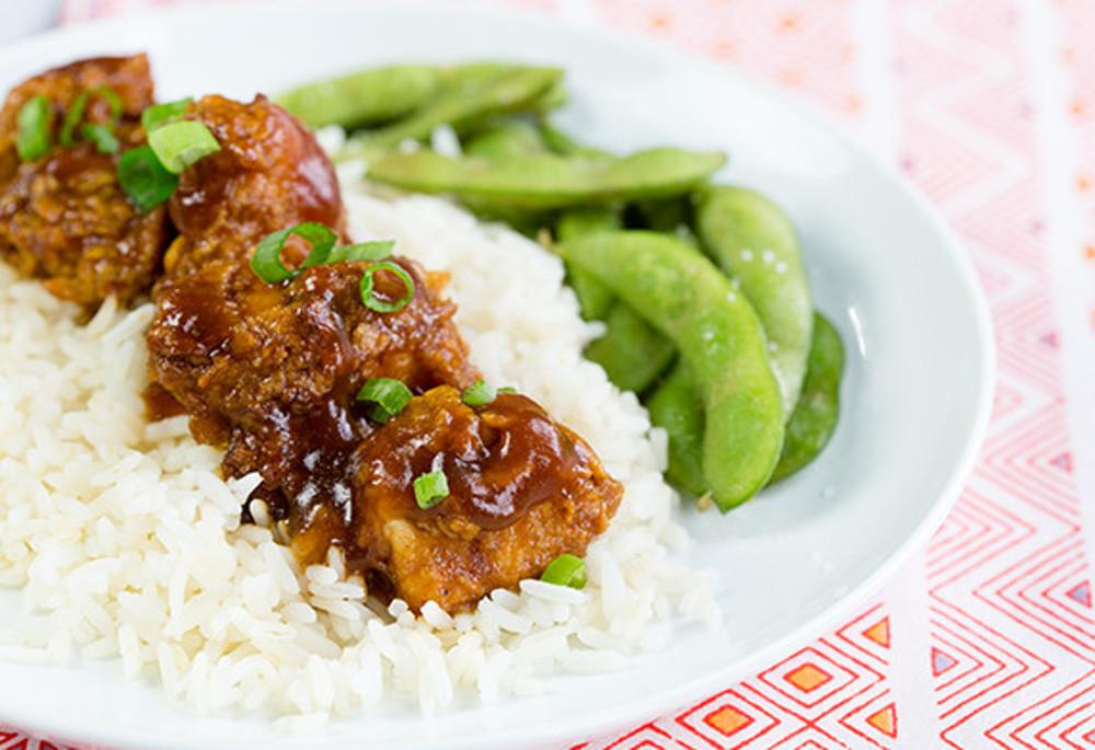 La meilleure recette de poulet Général Tao à l'érable!
