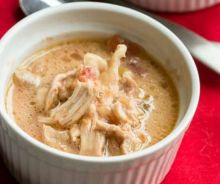 Soupe au poulet mexicaine à la mijoteuse