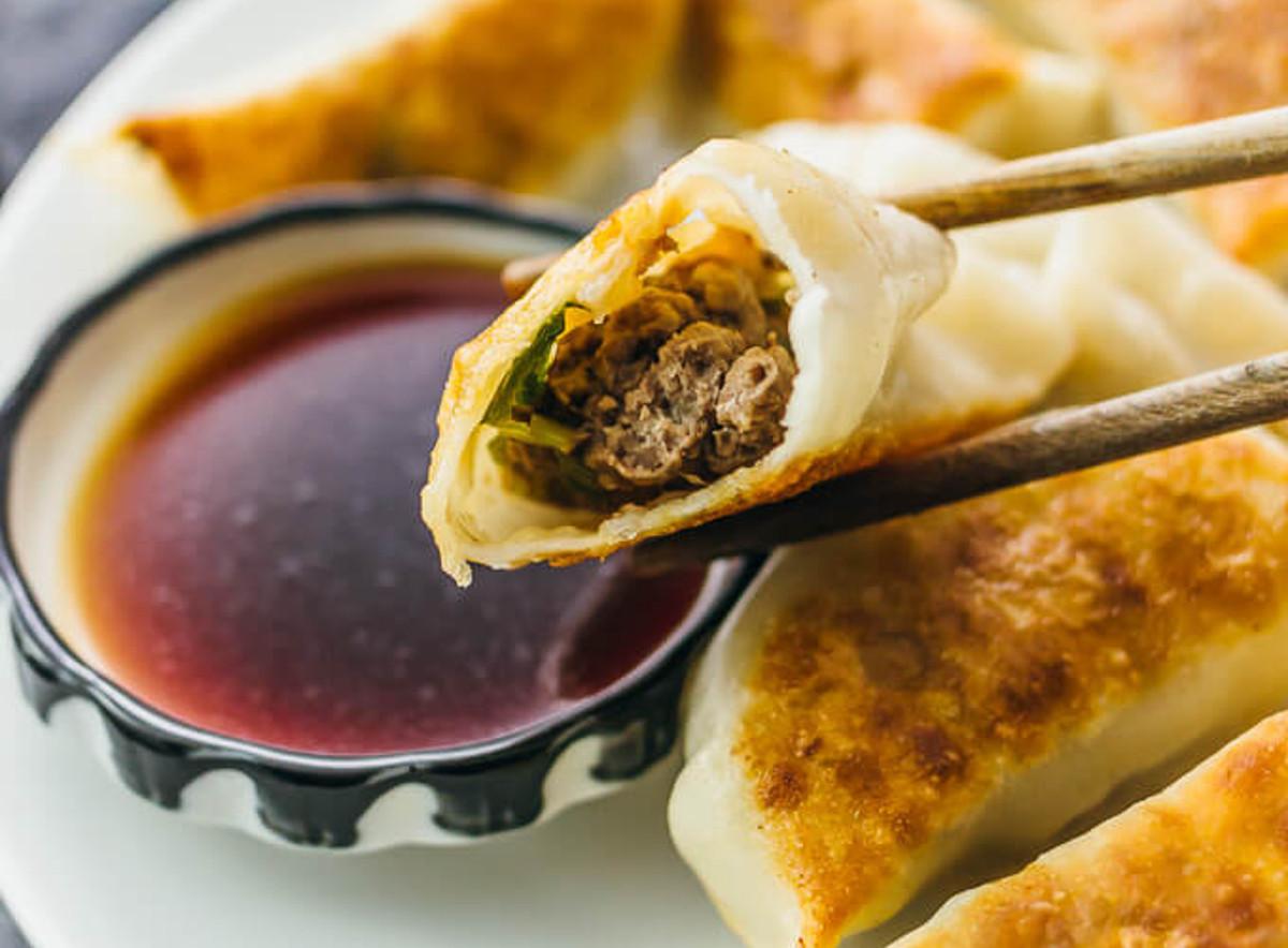 La meilleure recette de dumplings au bœuf! Wow...