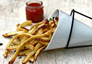 La meilleure recette de frites maison (Pour la friteuse à air chaud!)